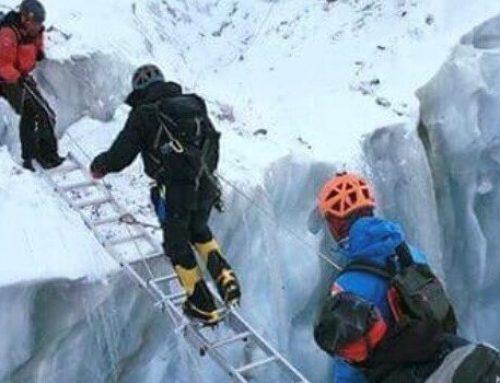 H HFW χορηγός στο Hellas goes Everest